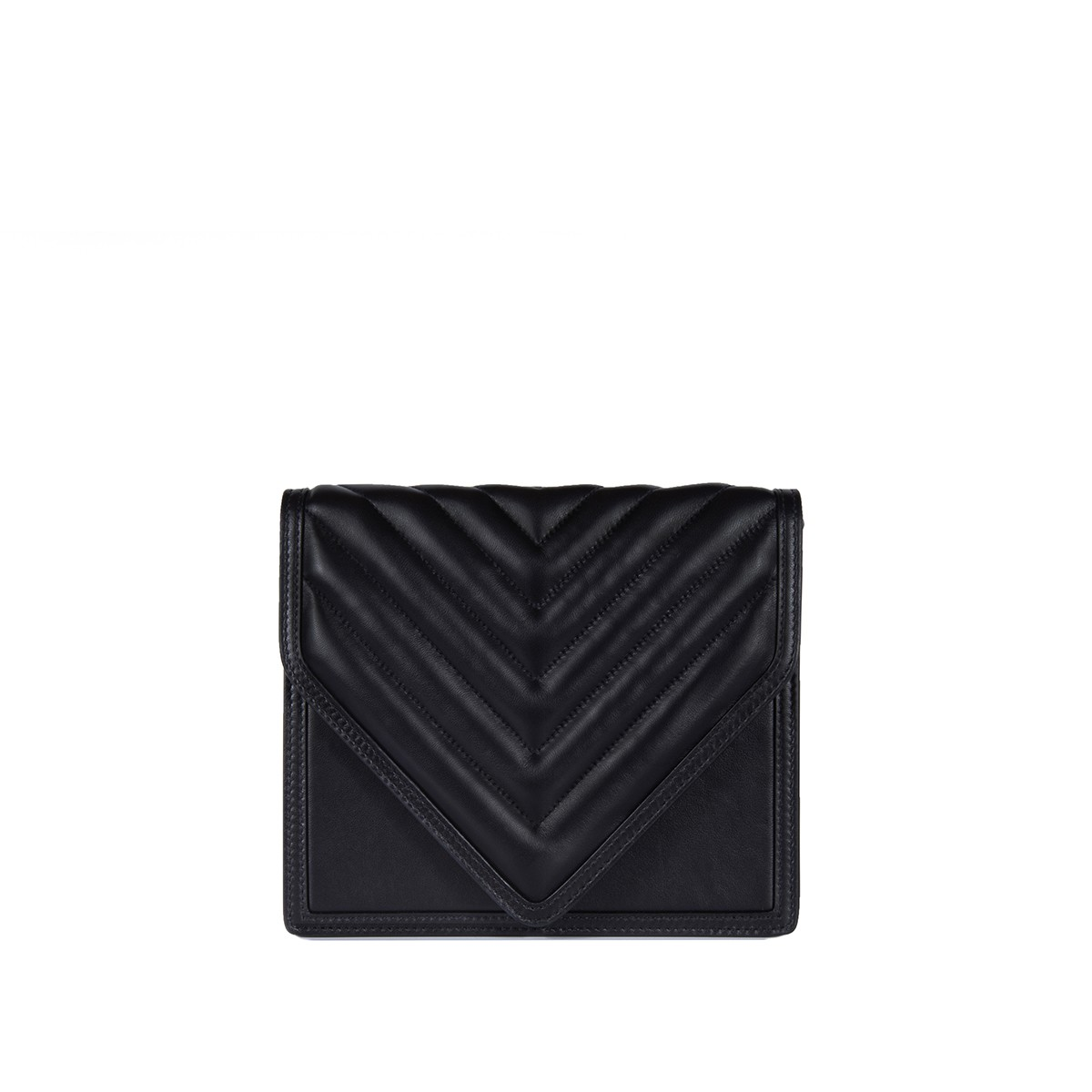 Alexa in Black Quilted Napa1