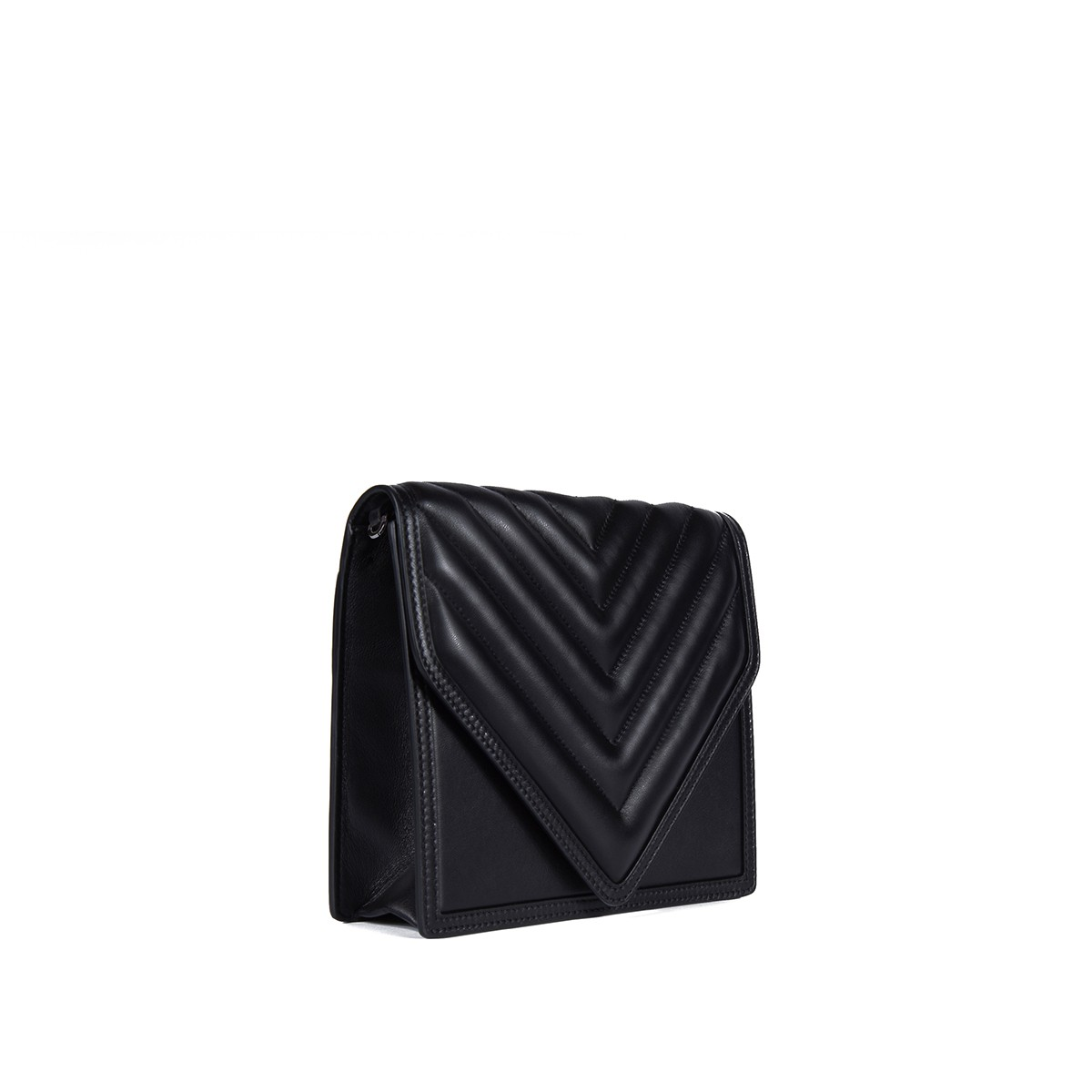 Alexa in Black Quilted Napa2