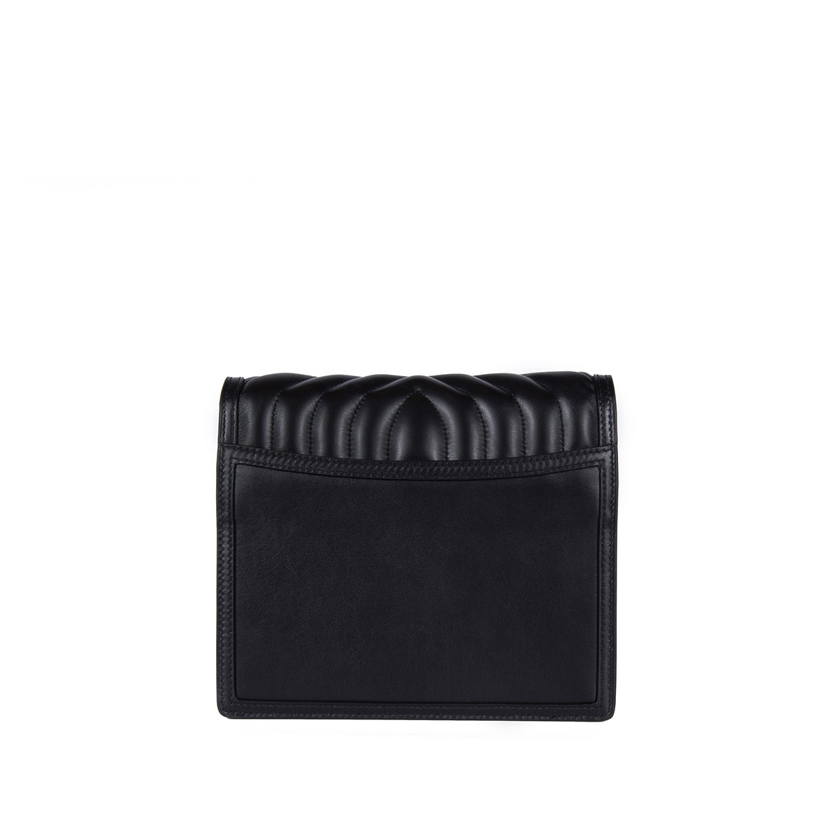 Alexa in Black Quilted Napa4