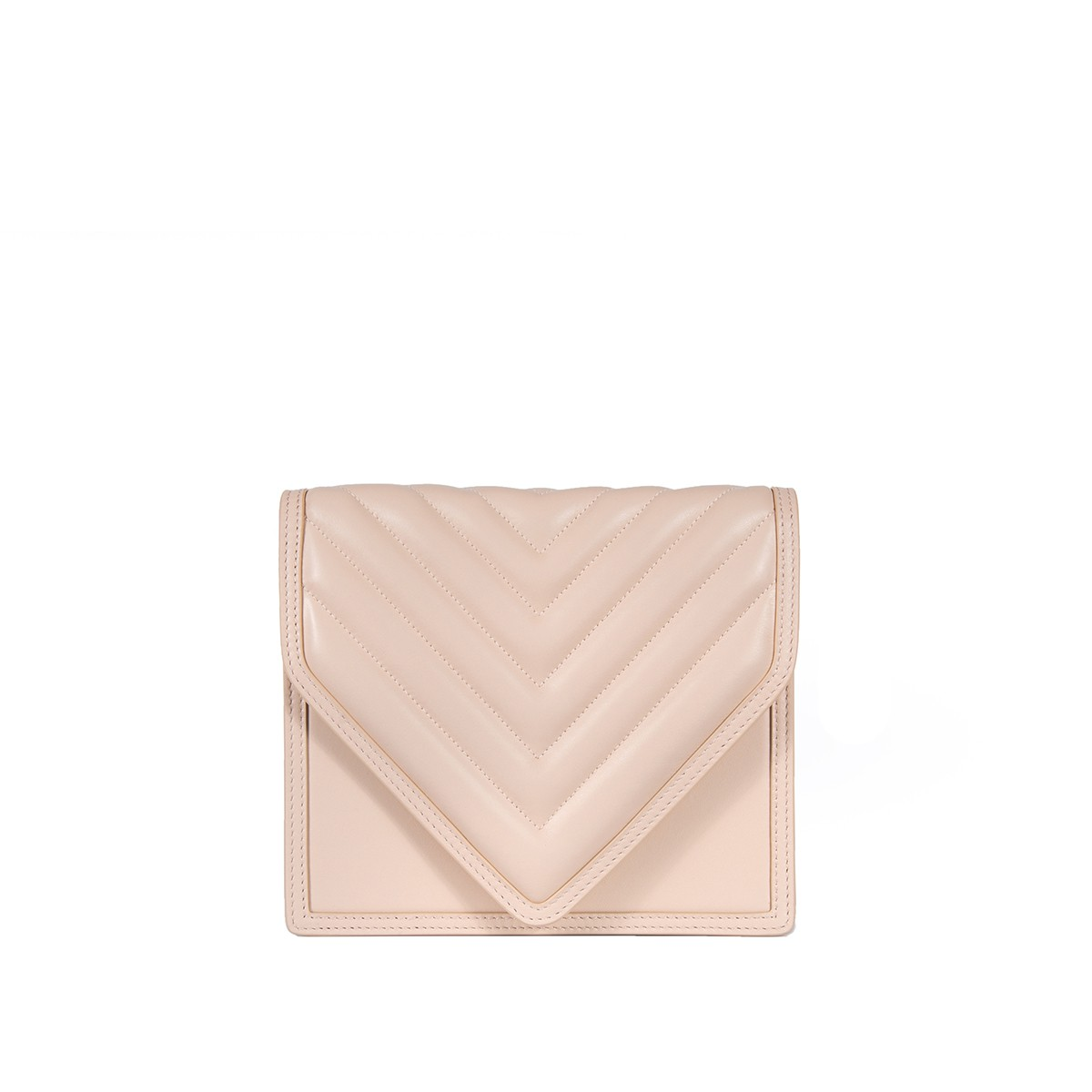 Alexa in Nude Quilted Napa1