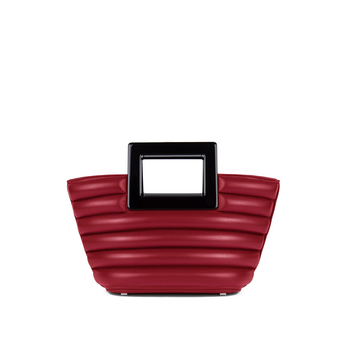 Micro Riviera in Crimson Quilted Napa1