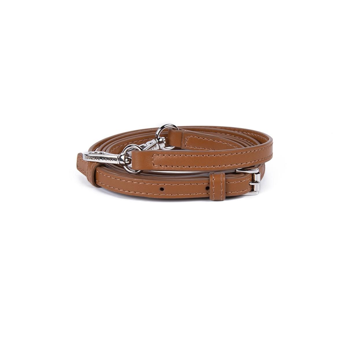 caramel leather strap